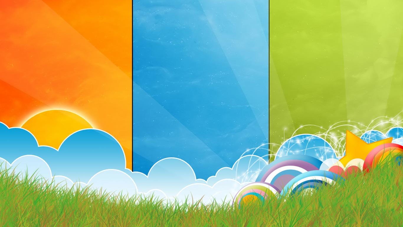 Notebook 3D Colors PC netbook 1366x768 Background 1366x768 1366x768