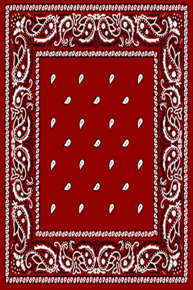 Red Bandana Wallpaper Red bandana iphone 4 wallpaper 640x960