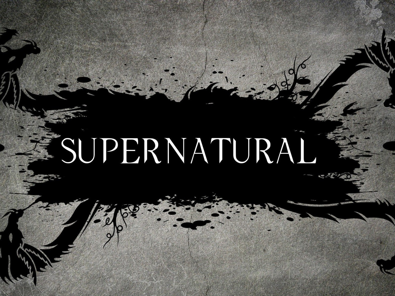 Supernatural Tv Series Logo   1600x1200   936899 1600x1200