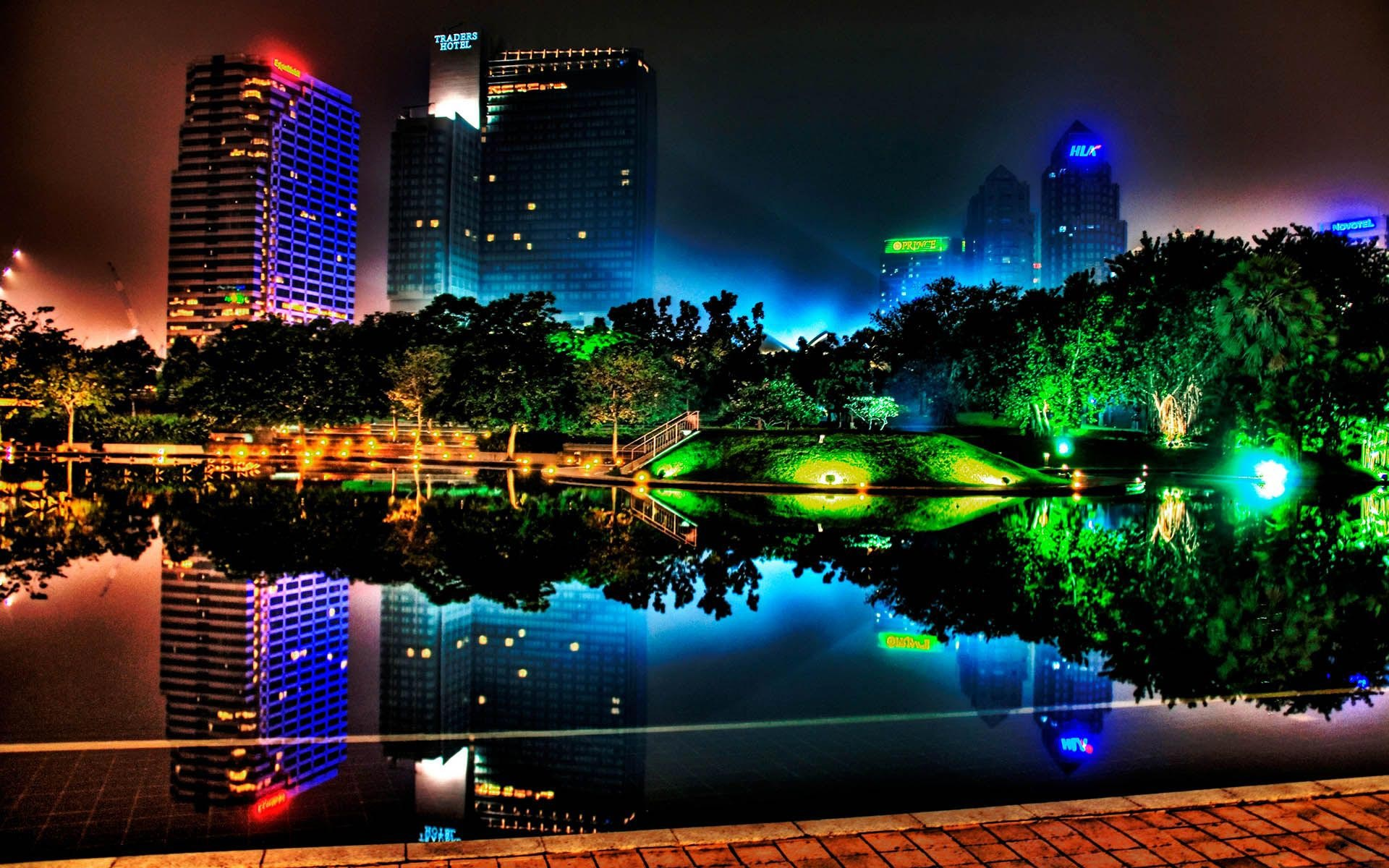 City Lights   HD Wallpaper 1920x1200