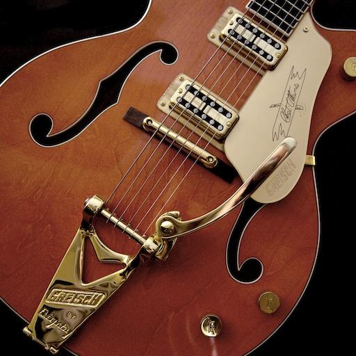 Guitar Wallpaper Hd For Desktop: Gretsch Guitar Wallpaper