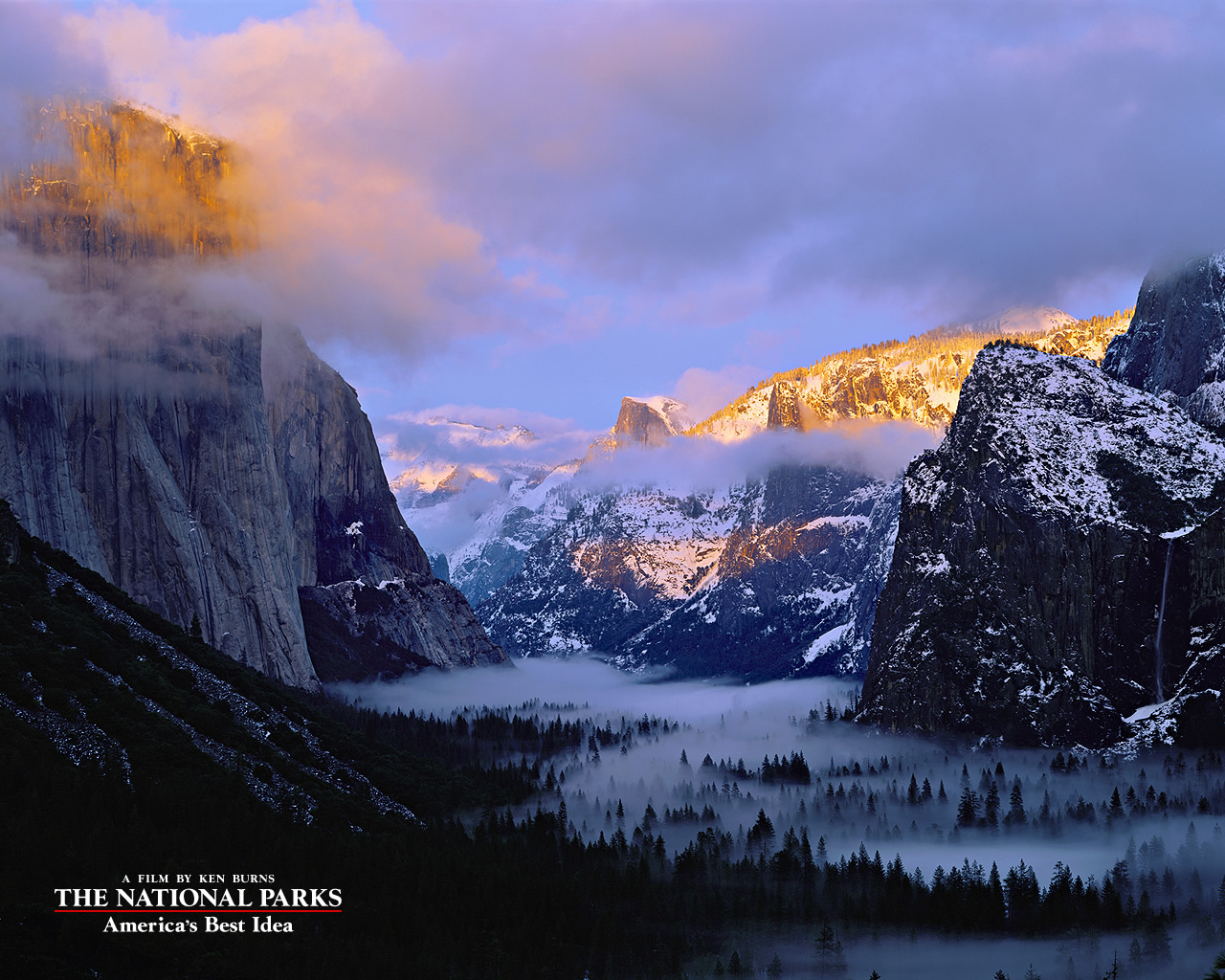 American Best Idea Yosemite National Park Wallpapers HD 1280x1024