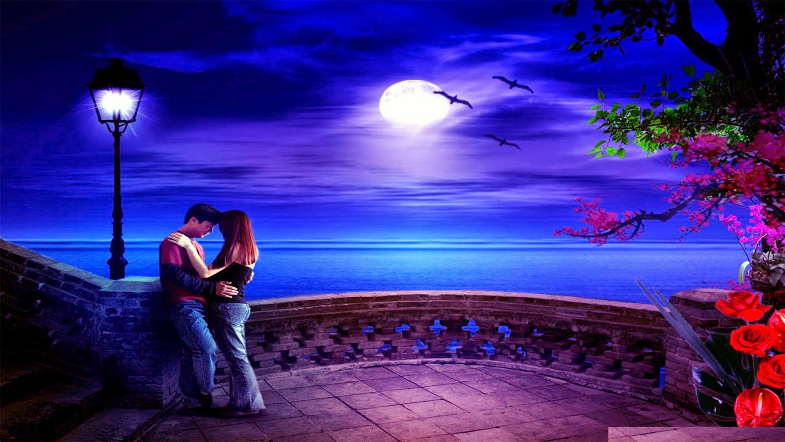 romantic cartoon image hd