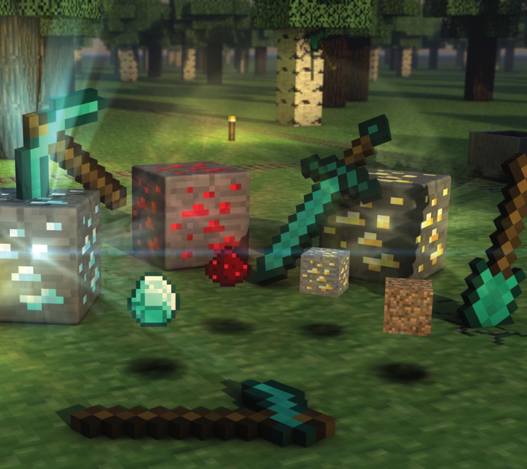 Epic Minecraft 3D Wallpapers 1mobilecom 1080x960