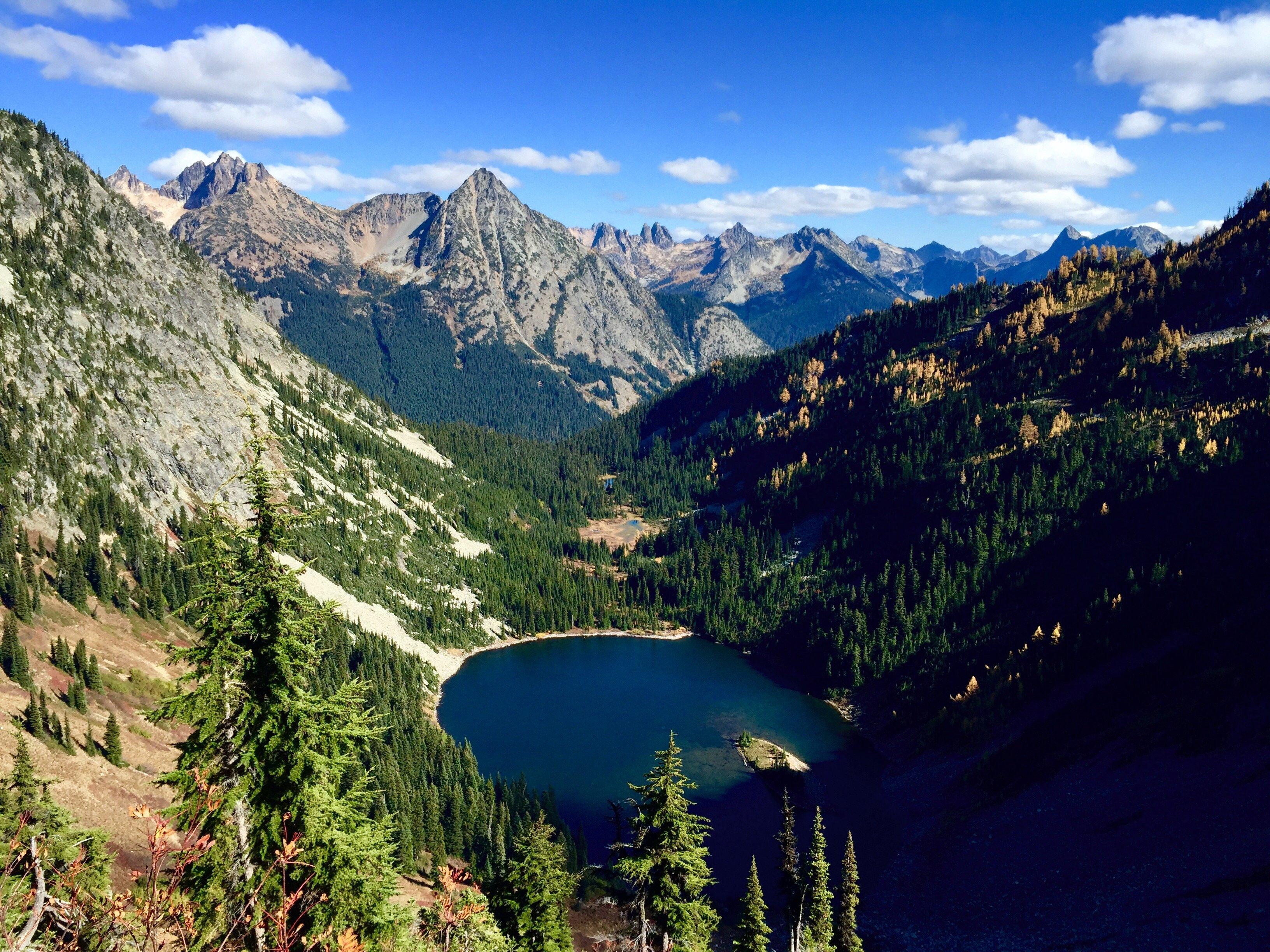 Lake Ann North Cascades National Park Washington HD wallpaper 3264x2448