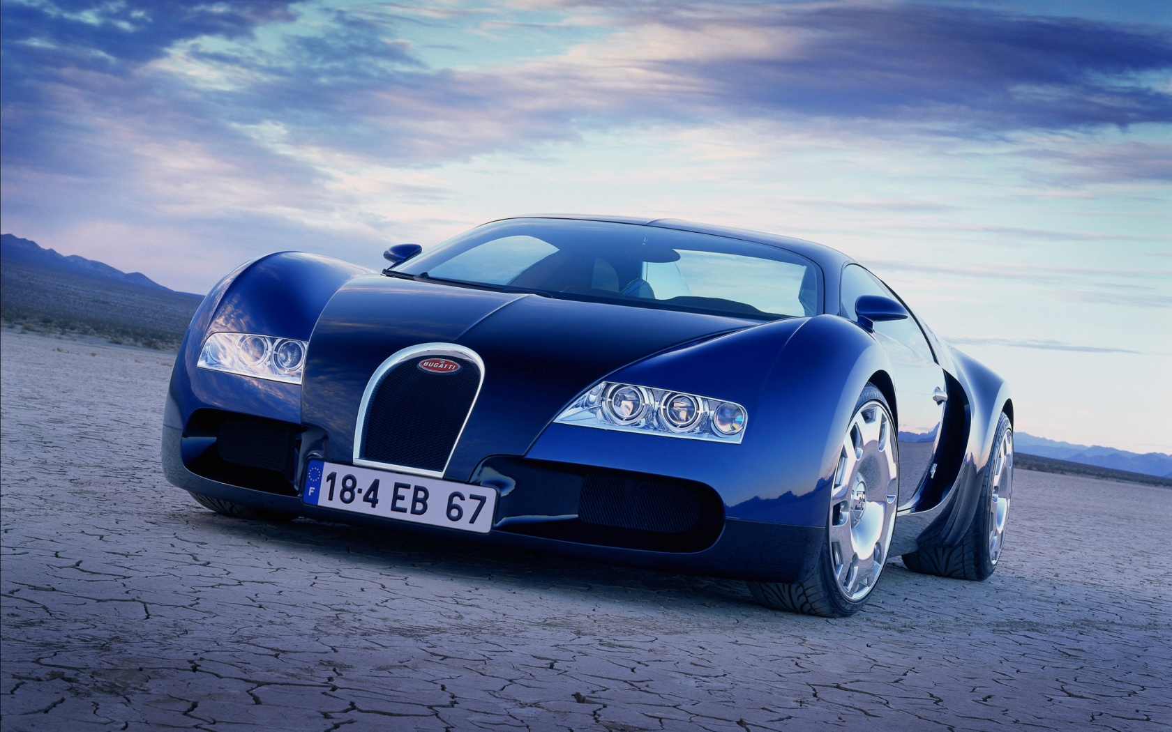 Bugatti Veyron EB 184 Retromobil 2014 Wallpapers 1680x1050