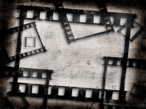 Grunge Film Frames Images at Clkercom   vector clip art online 600x450