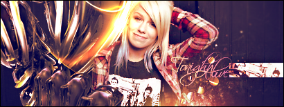 Jenna McDougall of Tonight Alive [SOTW Entry] by 410x155