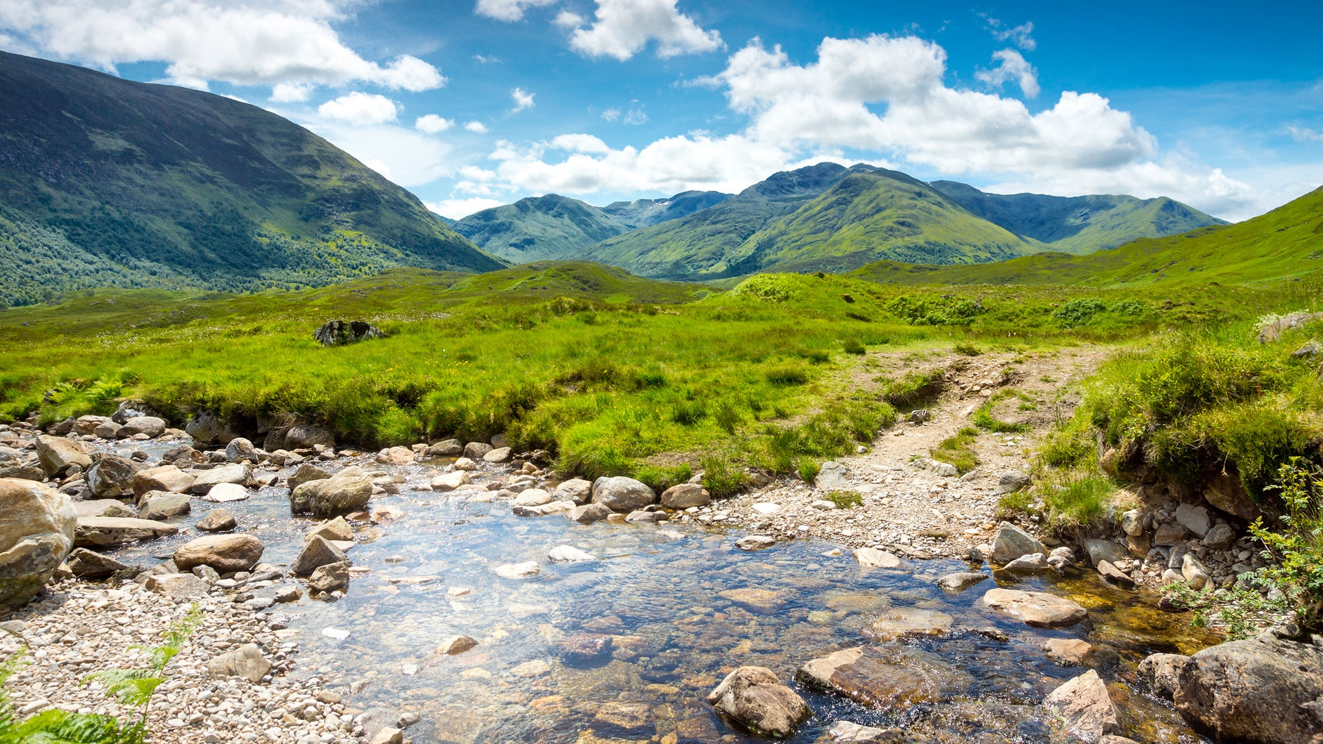 scotland natural scenery mountains - photo #1