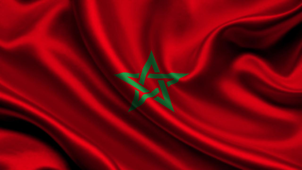 Photos Morocco Flag 1280x720