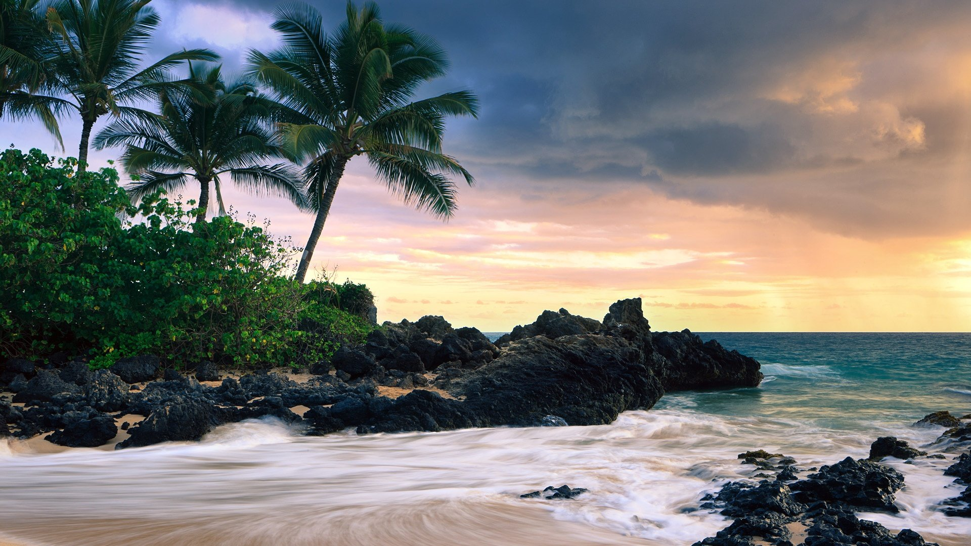 Tropical Beach HD Wallpapers 1920x1080