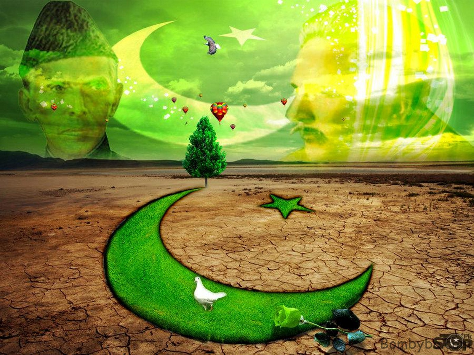 Welcome To Fun2shh World Independence Day Of Pakistan Wallpapers 1600x1200