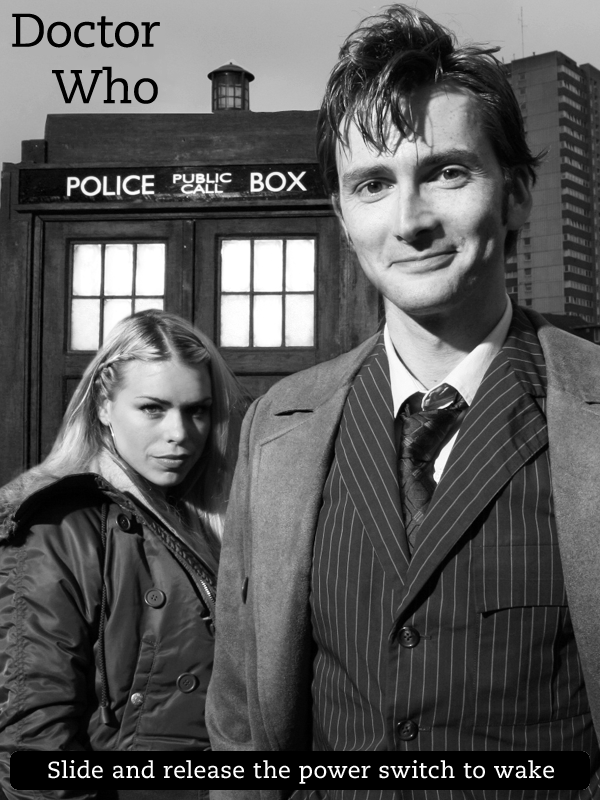 Kindle Screensaver Doctor Who by SongOrSuicide 600x800