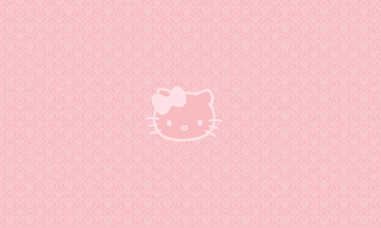 1280x768px Hello Kitty Pink Wallpaper Wallpapersafari