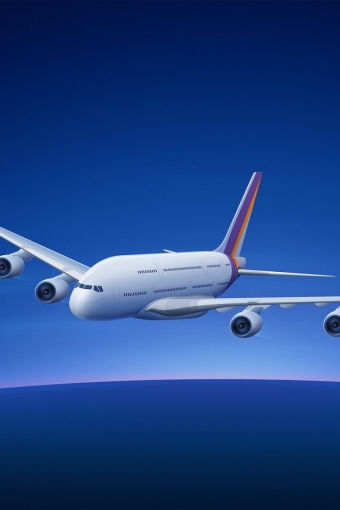 Airbus A380 iPhone HD Wallpaper iPhone HD Wallpaper download iPhone 340x510