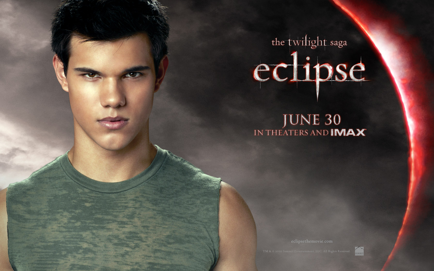 Jacob from Twilight Eclipse Desktop Wallpaper 1680x1050