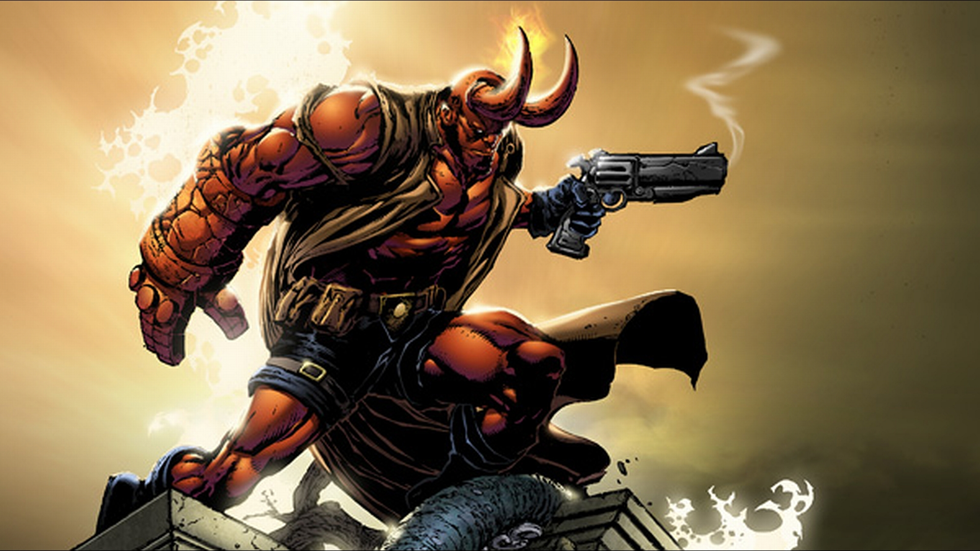 Wallpaper Abyss Explore the Collection Hellboy Comics Hellboy 162537 1920x1080