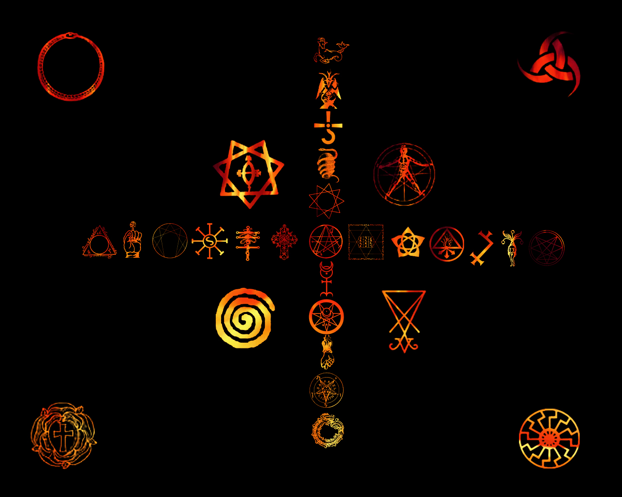 Occult Wallpaper by PariahRising 1280x1024