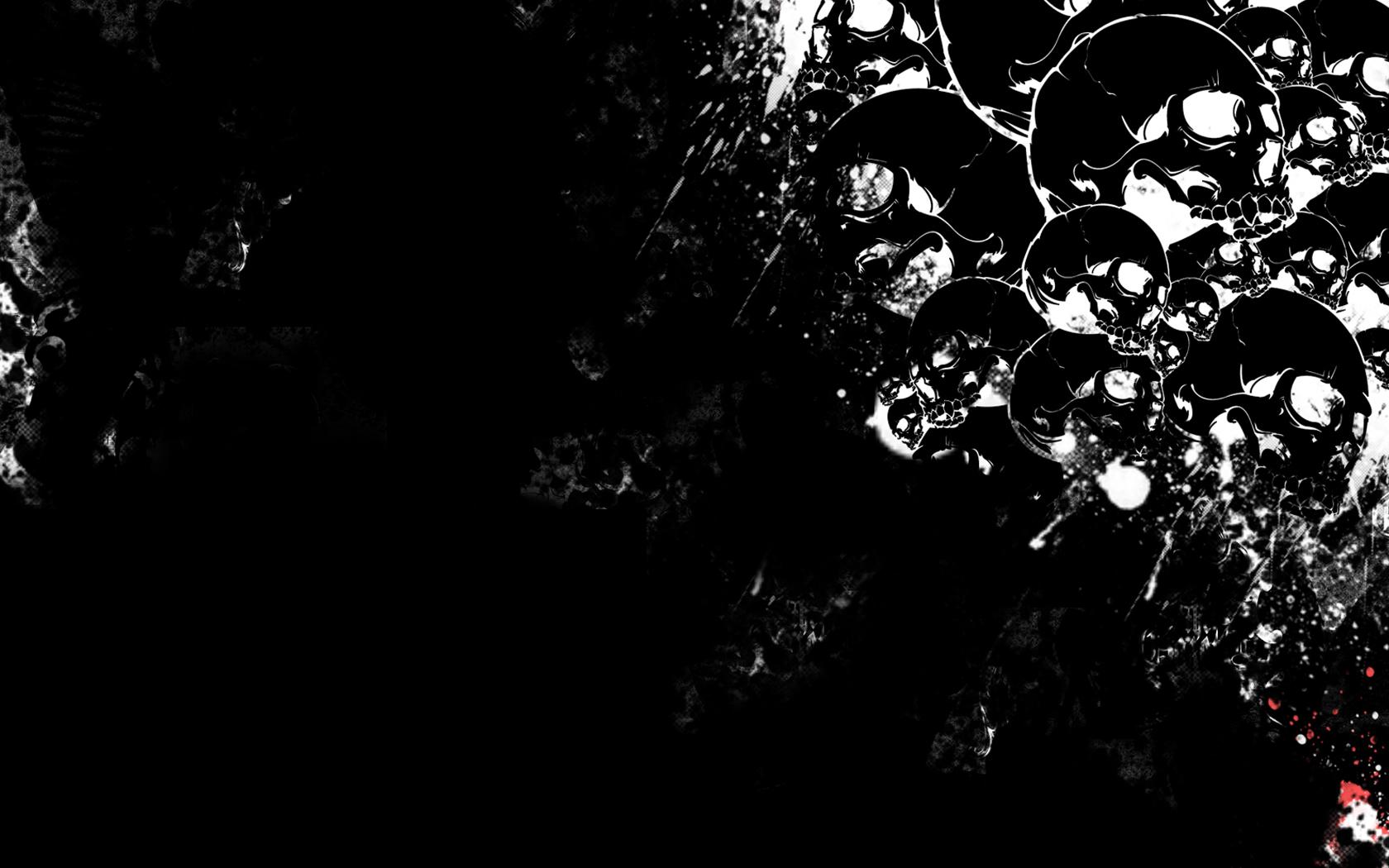 Dark   Skull Wallpaper 1680x1050