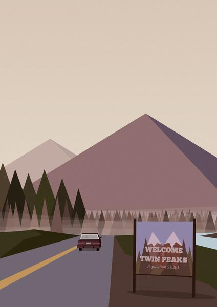 Twin peaks wallpaper iphone