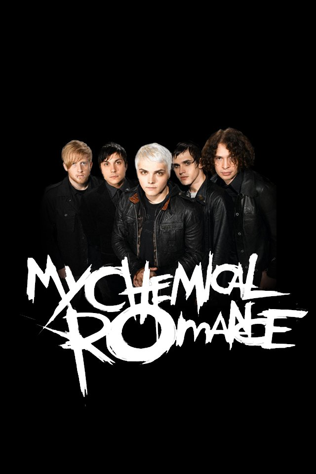 My Chemical Romance Iphone Wallpaper Wallpapersafari