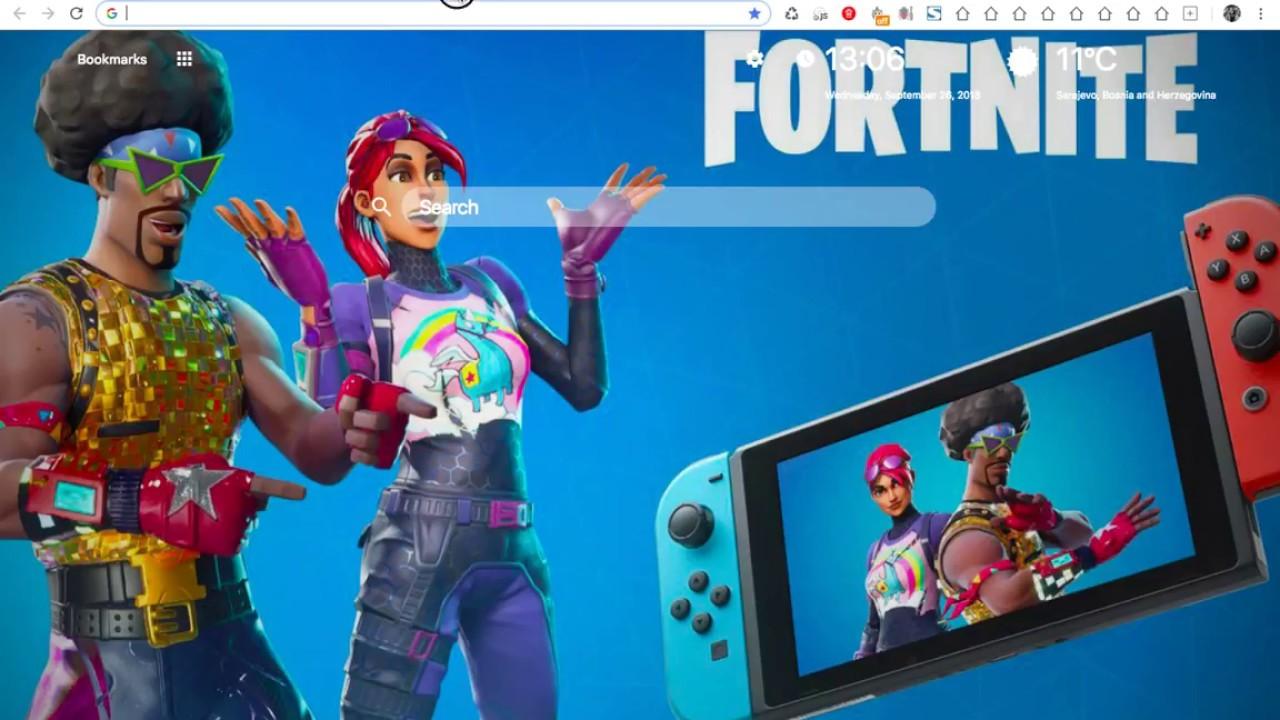 Fortnite Season 6 HD Wallpaper New Tab Themes 1280x720