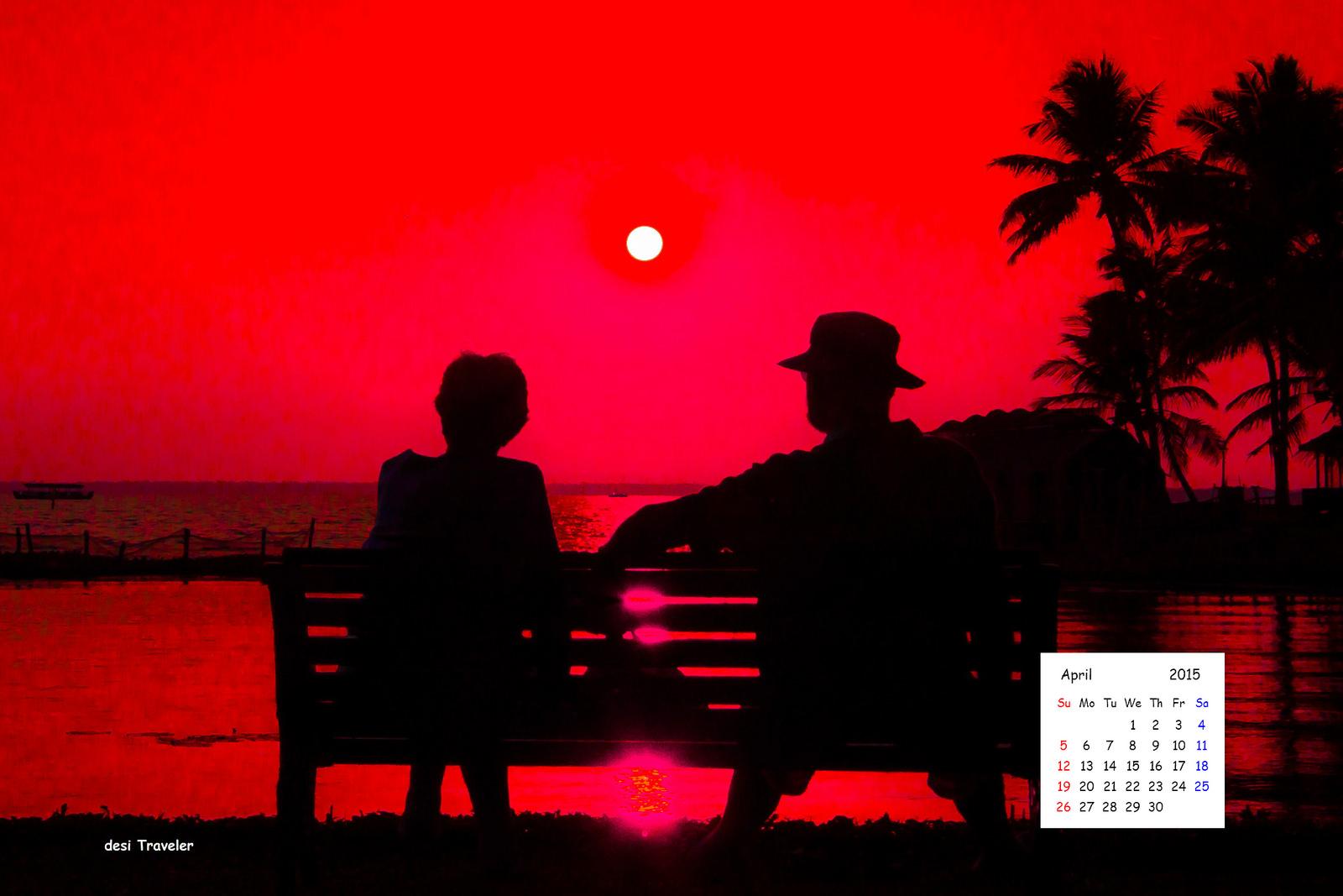 1600 px April 2015 desktop Wallpaper Calendar download 1600x1067