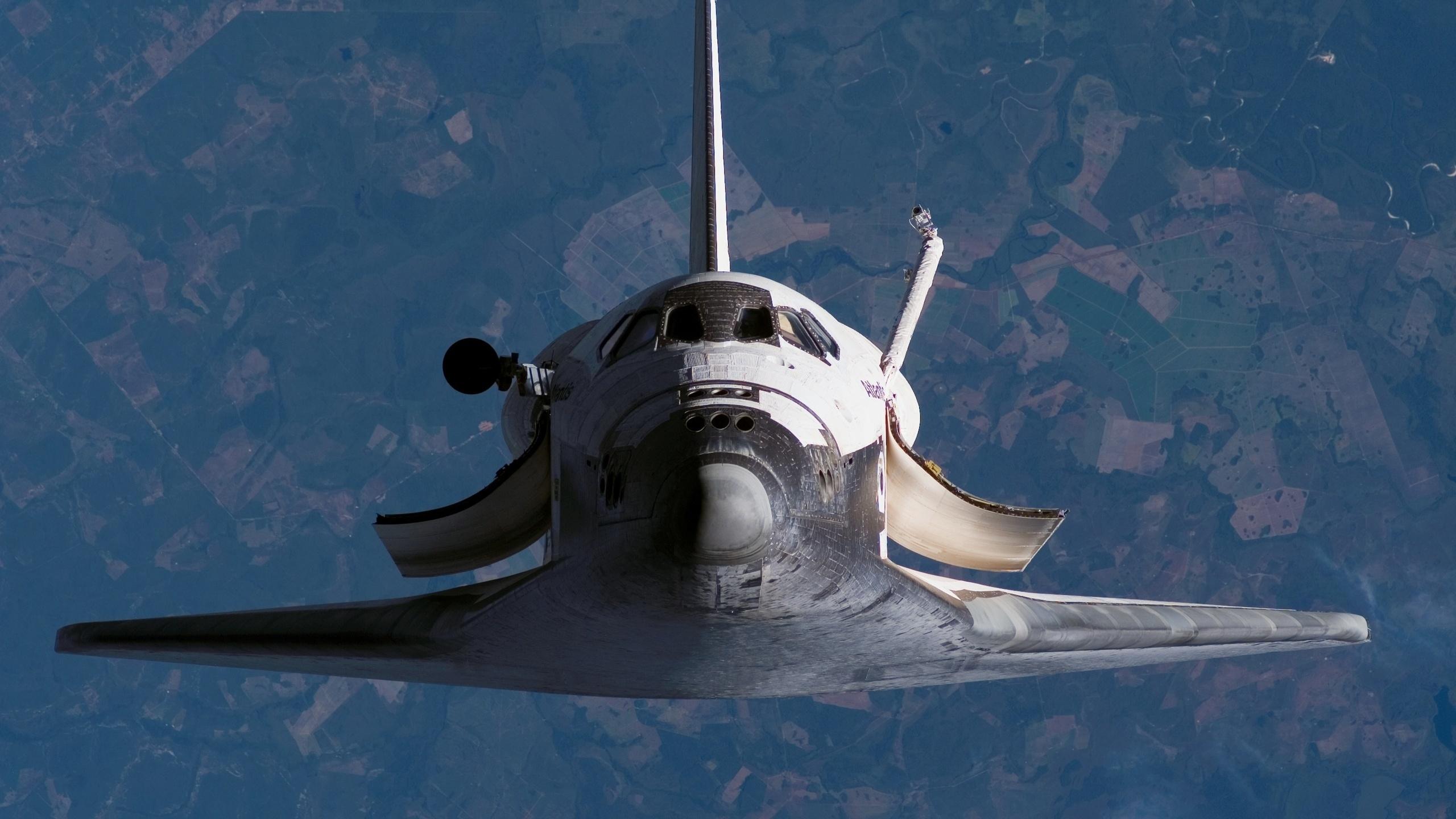 2560x1440 Space Shuttle desktop PC and Mac wallpaper