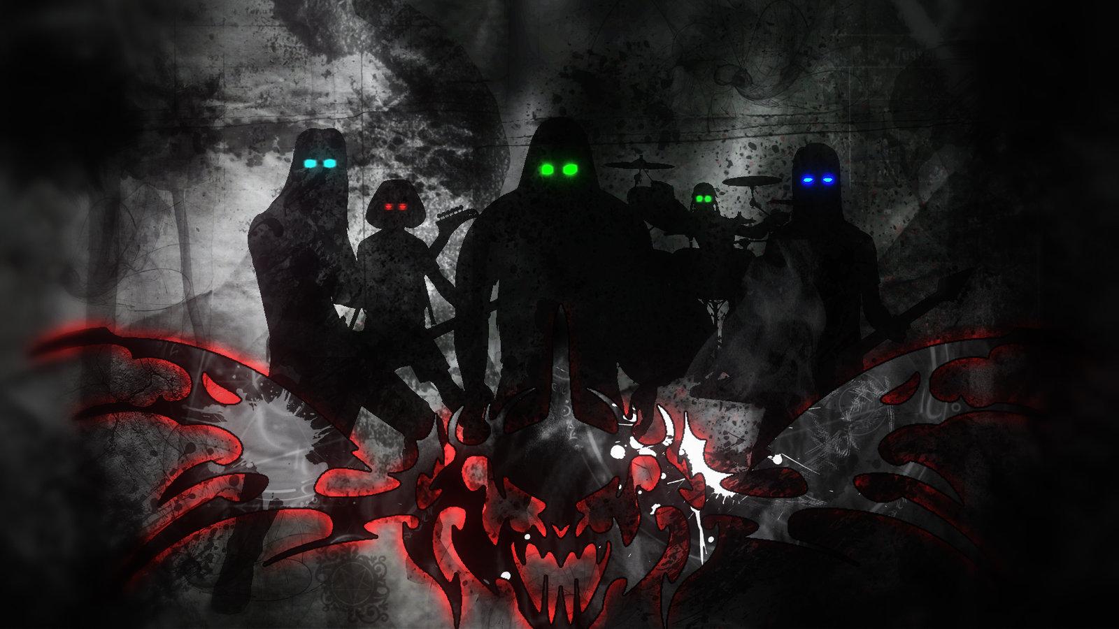 Dark Dethklok Wallpaper by nekusa 1600x900