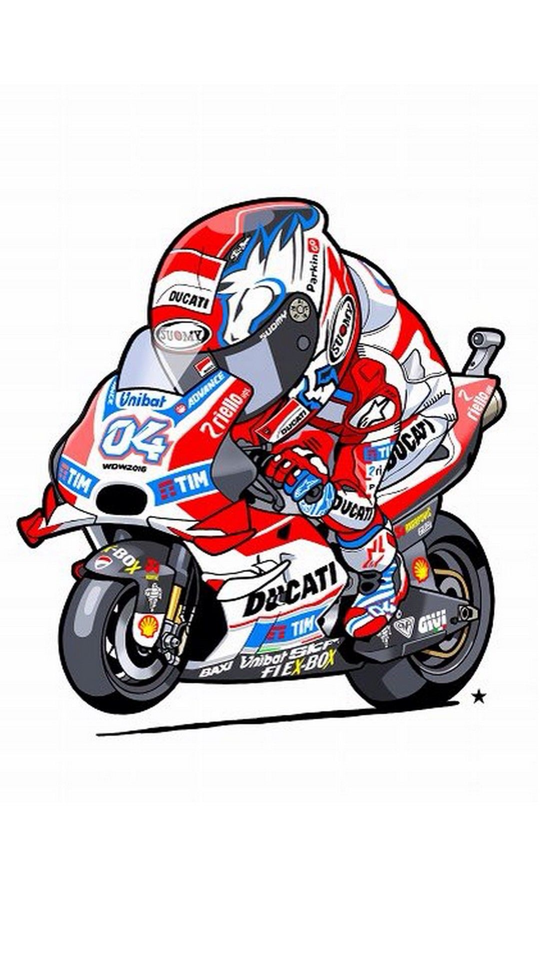 Animated Andrea Dovizioso iPhone Wallpaper iPhoneWallpapers 1080x1920