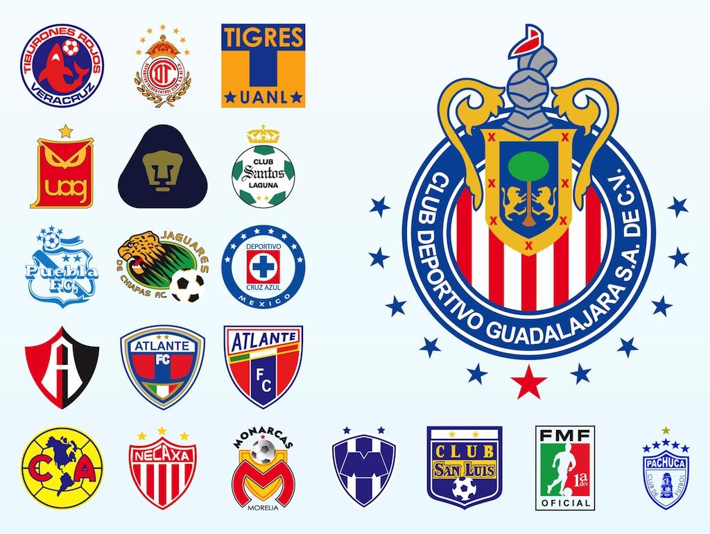 Mexican Football Logos 1024x770