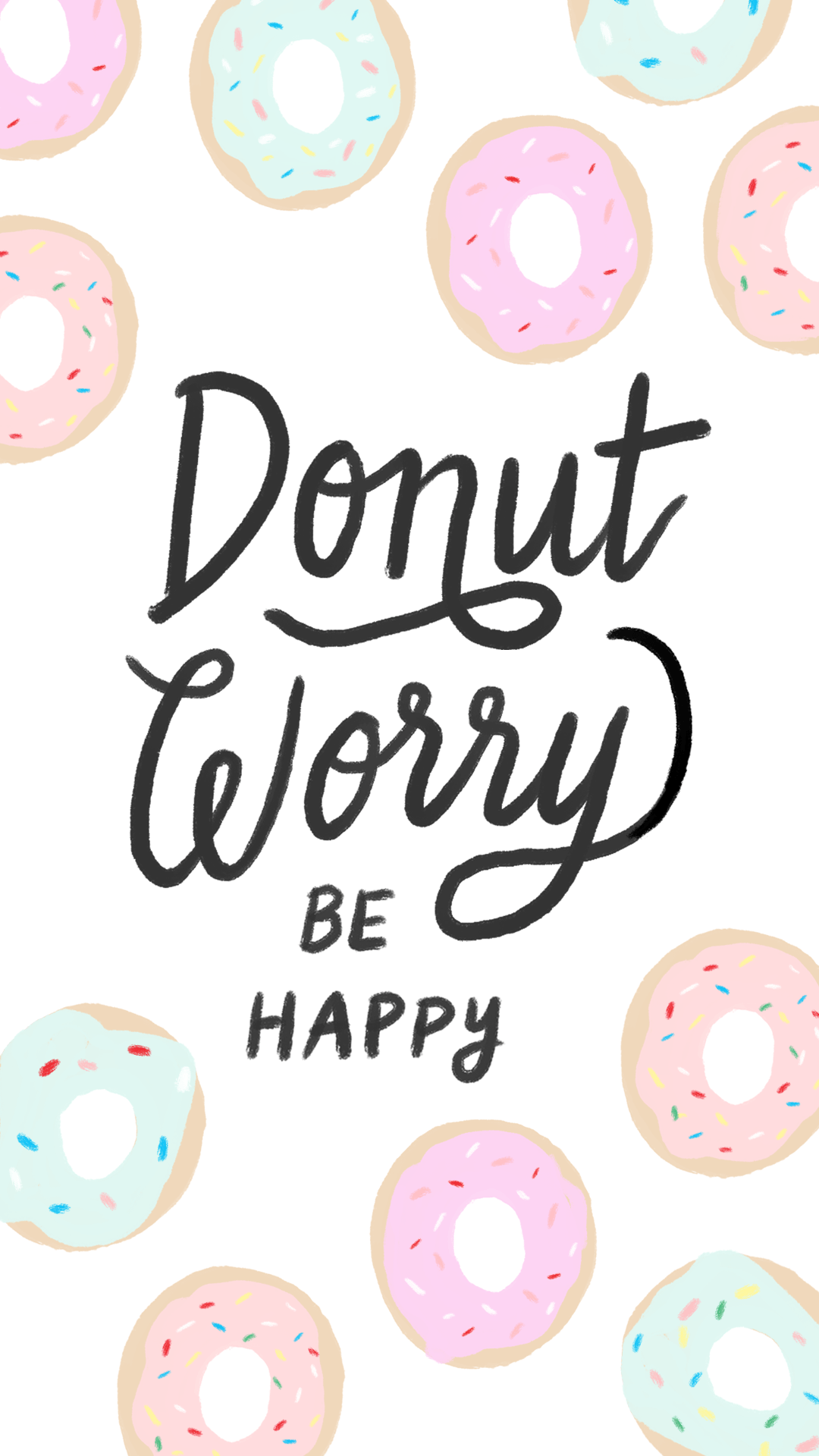 Cute Donut Wallpapers   Top Cute Donut Backgrounds 1080x1920