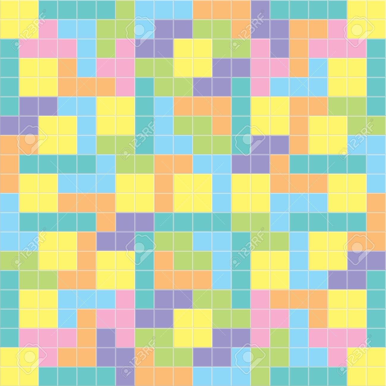 Tetris Background Pastel Colorsillustration Royalty Cliparts 1300x1300