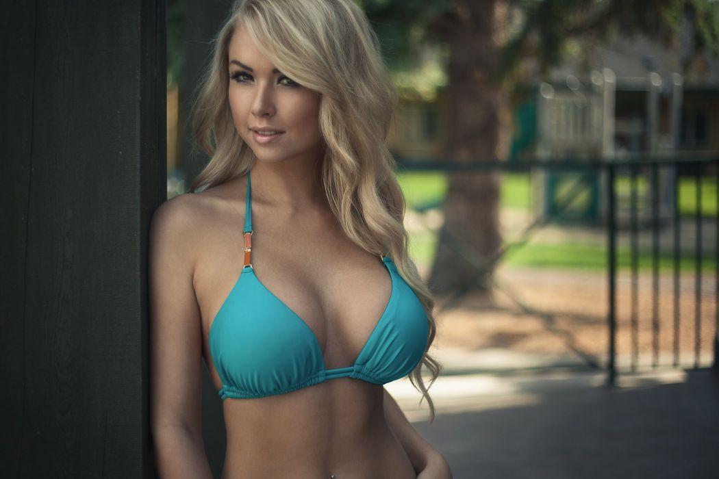 Beautiful girl female women woman sexy babe model adult blonde j 1050x700