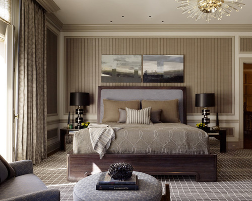 Masculine Wallpaper Home Design Ideas Pictures Remodel and Decor 500x400