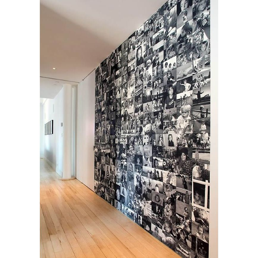 Photo Collage in 2019 Houses Wall Photo wall Diy wall 868x868