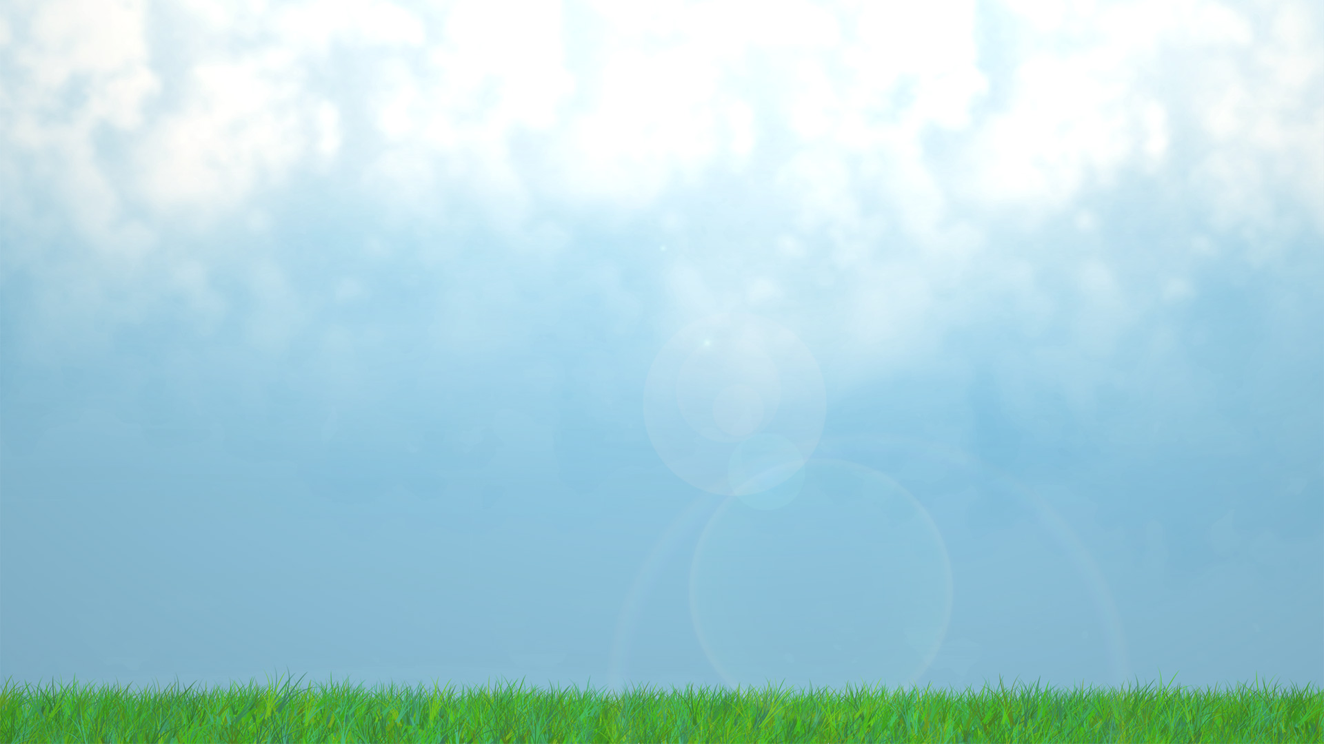 unibia s green grass and blue sky with clouds landscape wallpaper 1920x1080