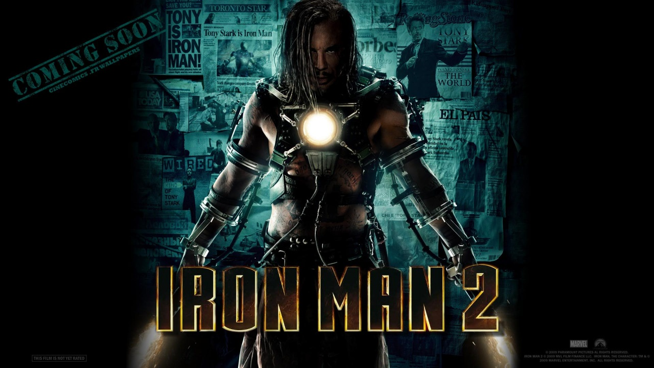 To Download Iron Man 2 wallpaper click on full size and then right 1280x720