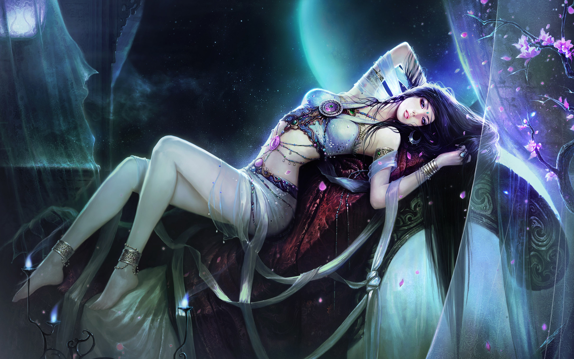 Stunning Hd Fantasy Wallpapers: Beautiful HD Anime Wallpaper