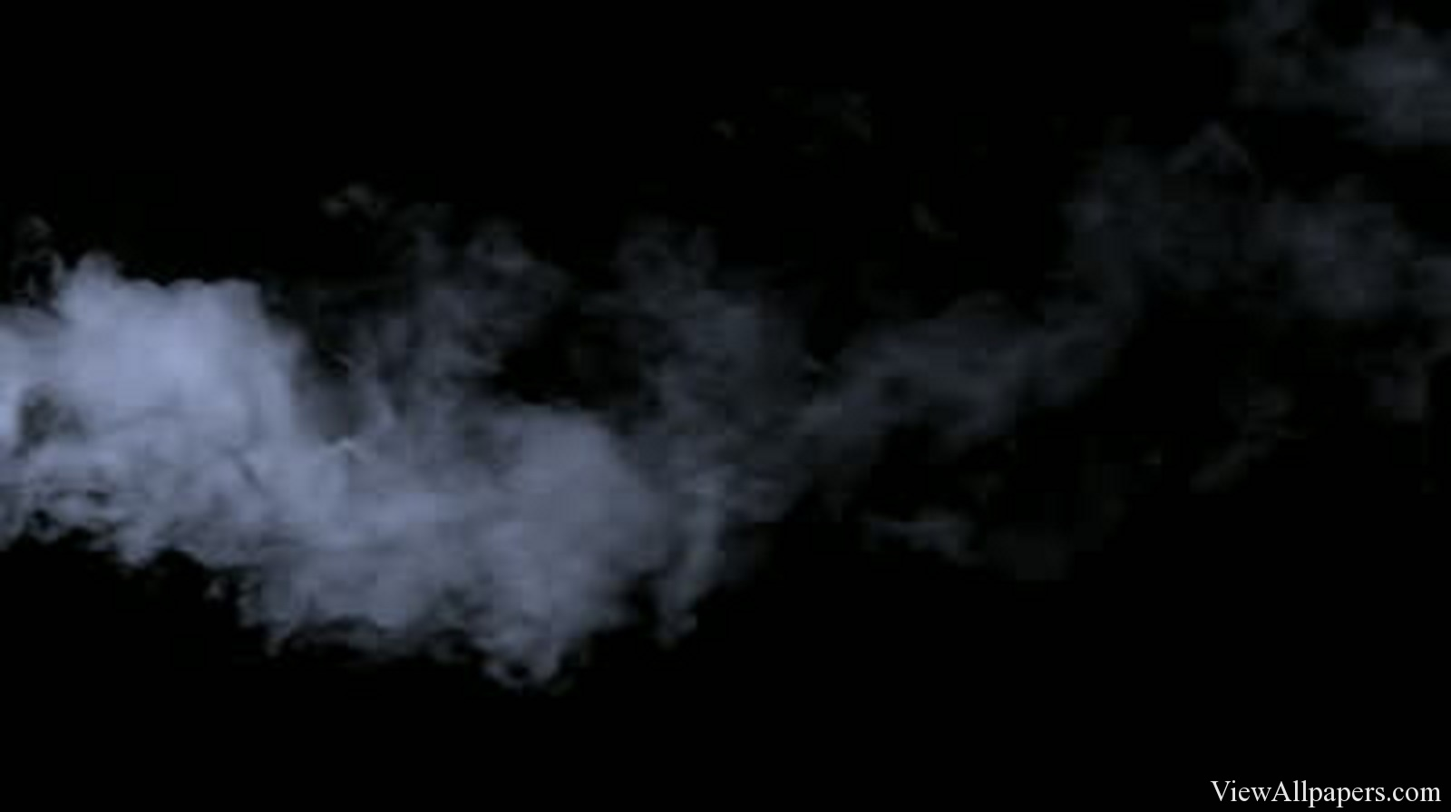 Smoke On Black High Resolution Wallpaper download Smoke On Black 1600x896