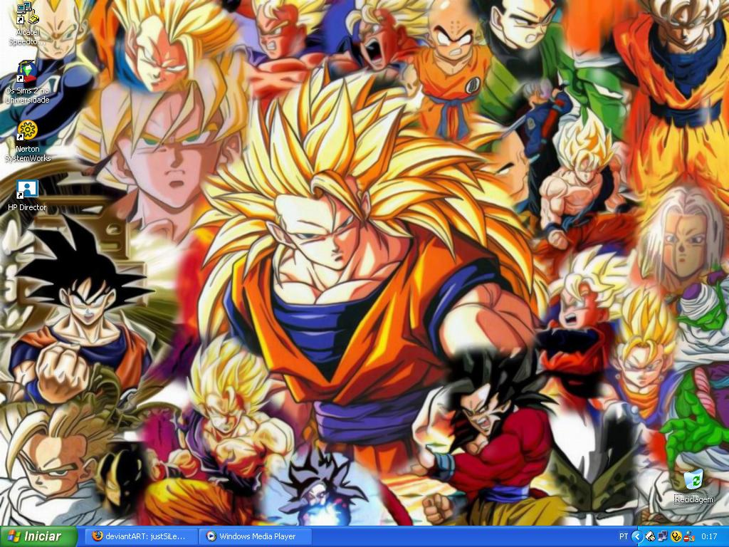 Dragon Ball Wallpaper by justSiLeNtWaLkEr 1024x768