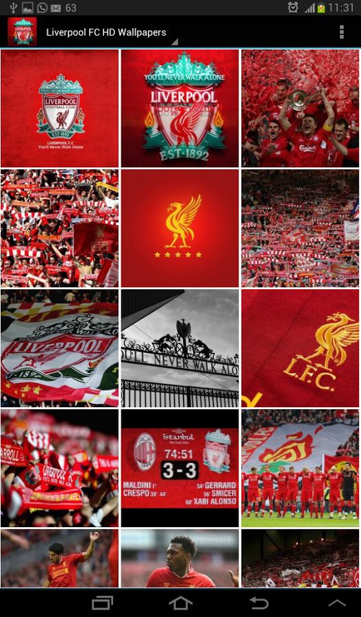 49 Liverpool Fc Wallpapers Screensavers On Wallpapersafari