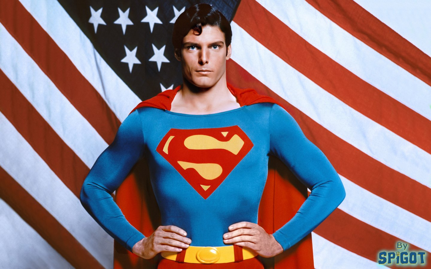 Christopher Reeve as Superman 1440x900