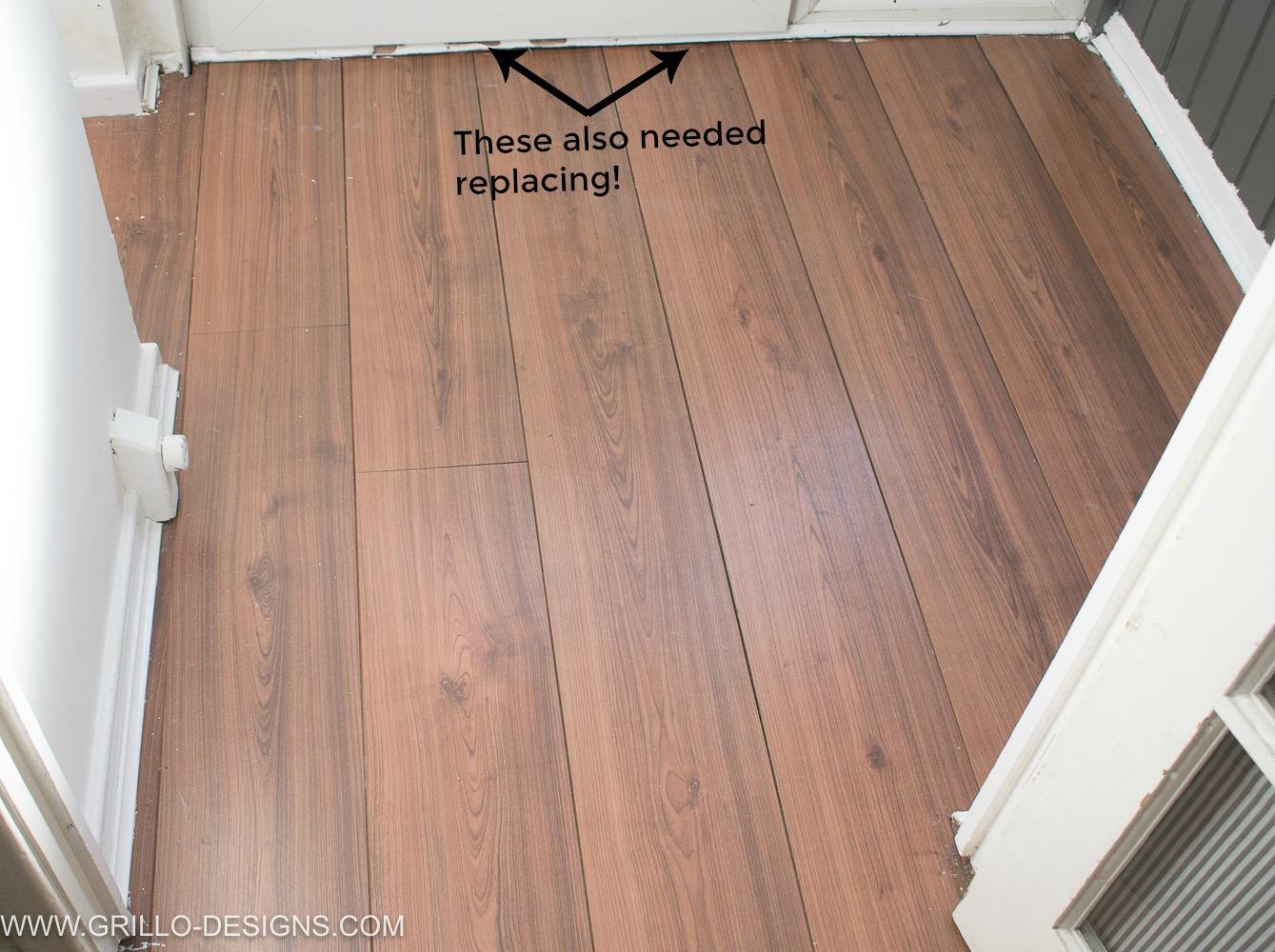 How to Wallpaper A Floor   a renter friendly alternative Grillo 1339x1000