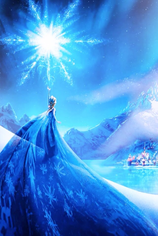 Frozen   elsa   disney wallpaper Disney Wallpapers For Iphone Iphone 640x955