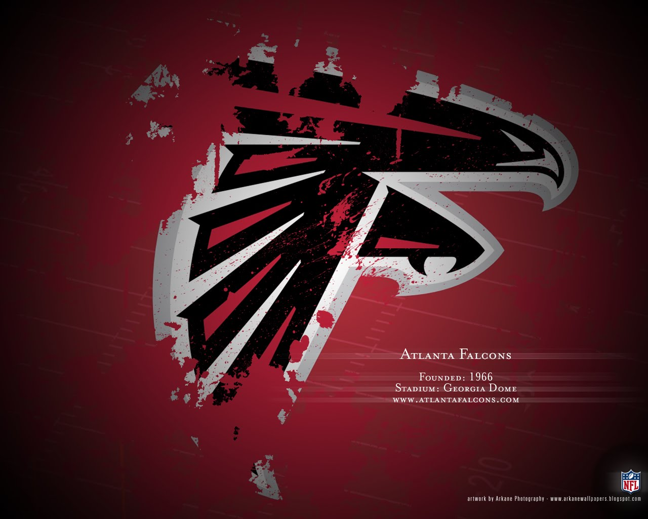 Arkane NFL Wallpapers Profile   Atlanta Falcons 1280x1024