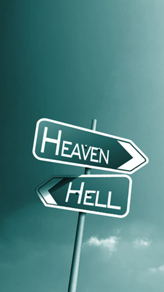 Heaven or Hell iPhone 6 Wallpapers moto e wallpaper 540x960