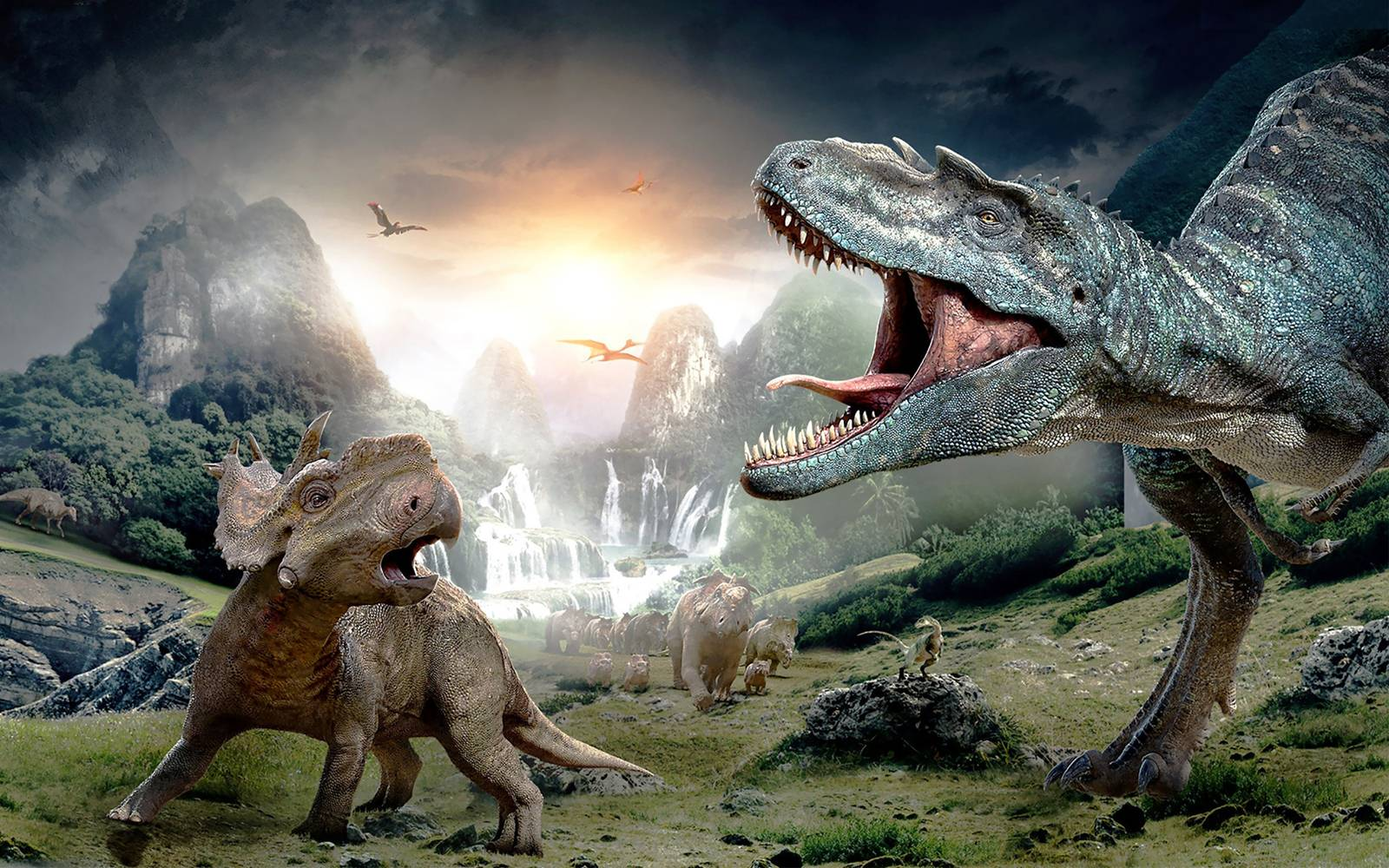 Walking with Dinosaurs 3DHD WallpapersImagesPictures 1600x1000