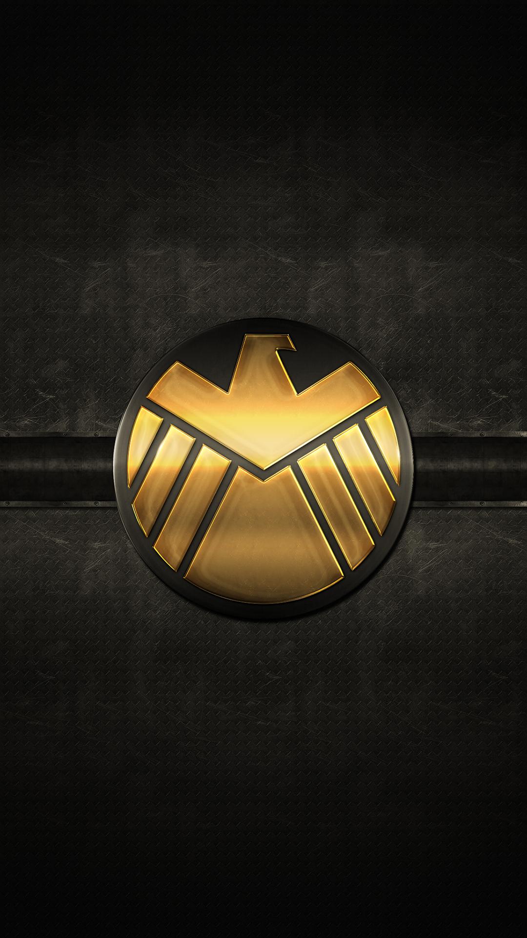 Marvel Shield iPhone Wallpaper - WallpaperSafari