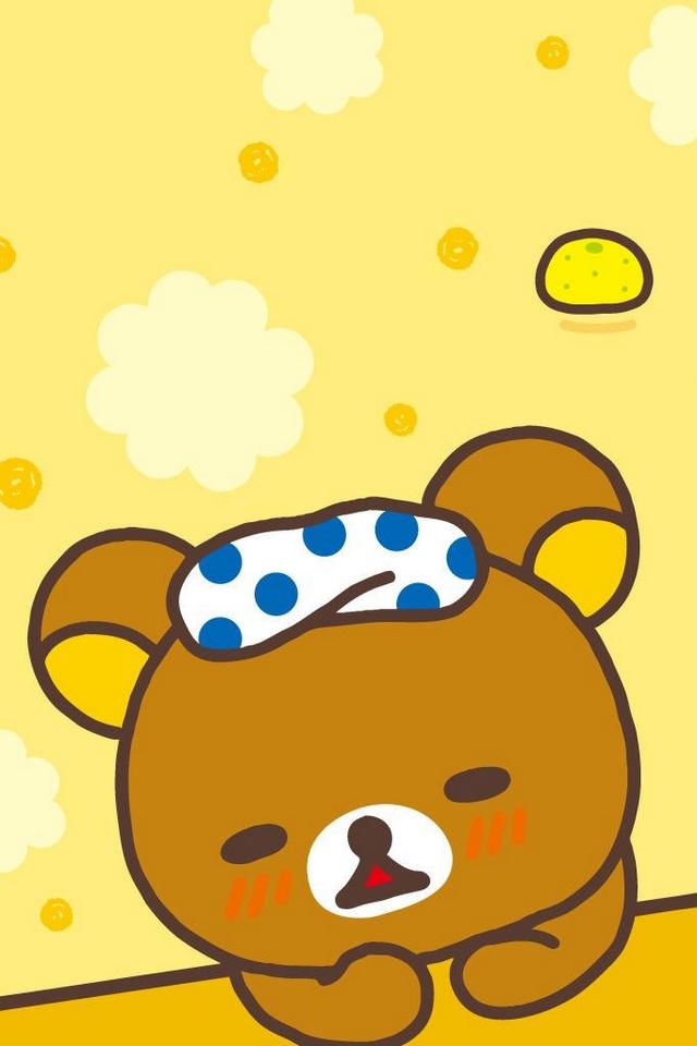 Rilakkuma Cute Download IPhoneiPod TouchAndroid Wallpapers 640x960